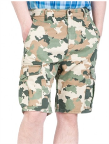 WRANGLER CARGO SHORTS  ARMY  (RELAXED FIT)