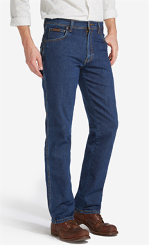 WRANGLER TEXAS JEANS (STRETCH) DARKSTONE