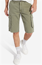 WRANGLER CARGO SHORTS  MOSS GREEN  (Regular Fit)