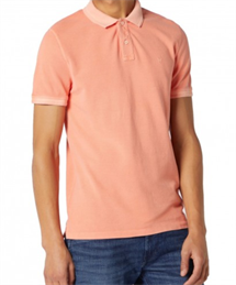 WRANGLER POLO SHIRTS  MELON ORANGE