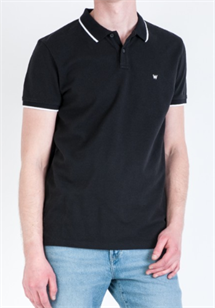 WRANGLER POLO SHIRTS  SORT