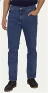 WRANGLER TEXAS STRETCH DARKSTONE/MELLEMBLÅ