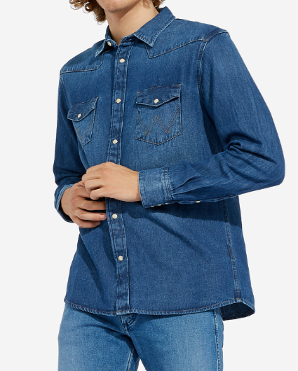 WRANGLER COWBOYSKJORTE (REGULAR FIT) STR. S-4XL