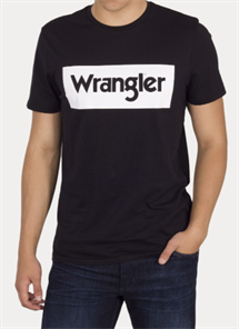 WRANGLER LOGO T-SHIRT STR.S-4XL SORT